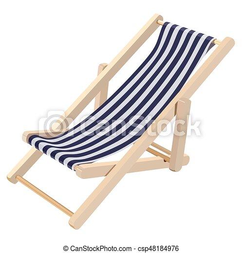 Salón Wooden Chaise - csp48184976