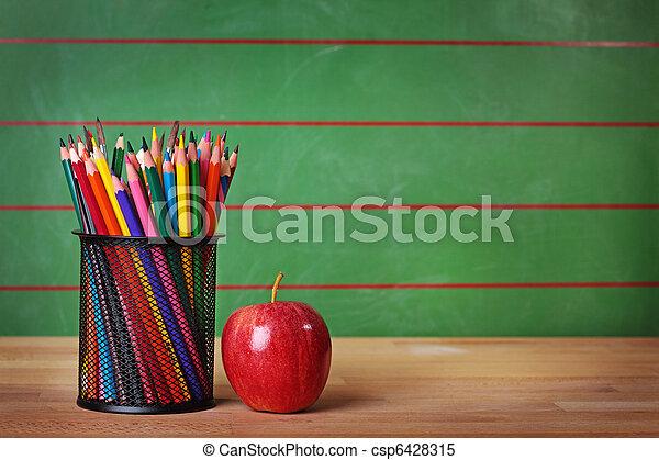 De vuelta a la escuela - csp6428315