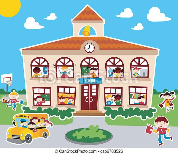 De vuelta a la escuela - csp6783526