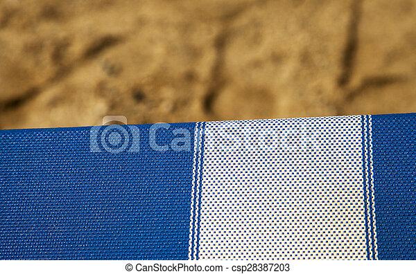 Silla de cubierta - csp28387203