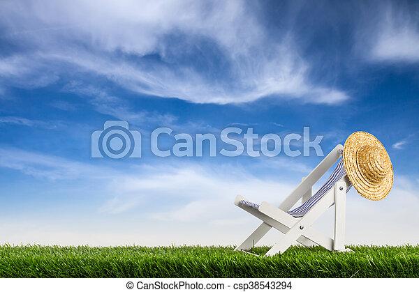 Silla de cubierta - csp38543294