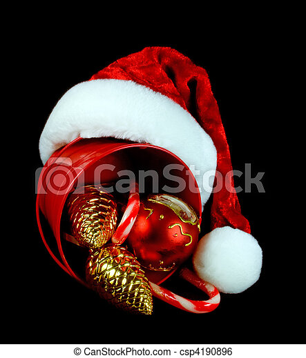 Decoraciones navideñas - csp4190896