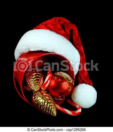 Decoraciones navideñas - csp1295266