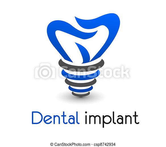 Un icono dental - csp8742934