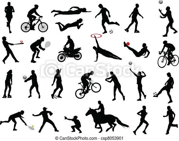Colección de deportes - csp8053901