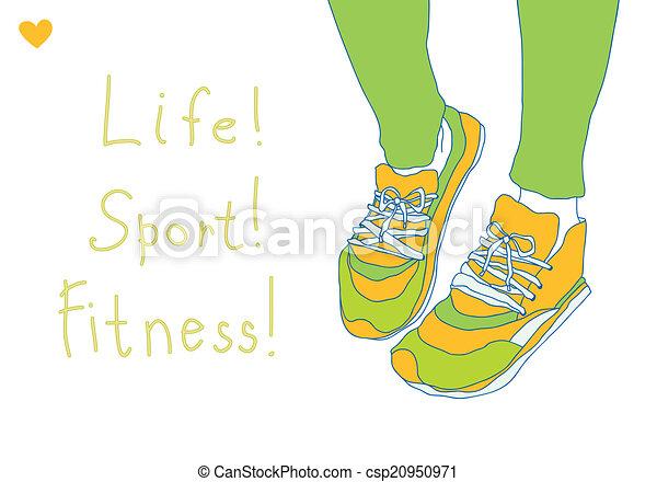 Zapatos deportivos - csp20950971