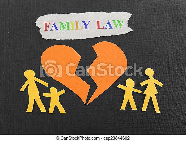 Derecho familiar - csp23844602