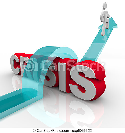 Crisis - superando una emergencia con el plan de desastre - csp6056622