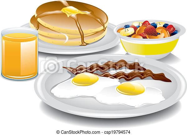 Desayuno completo - csp19794574