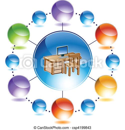 Desk - csp4199843