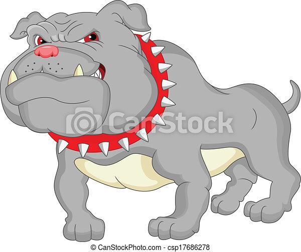 Dibujos de bulldogs ingleses - csp17686278