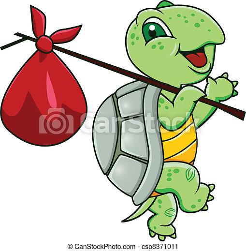 Dibujos de tortuga - csp8371011
