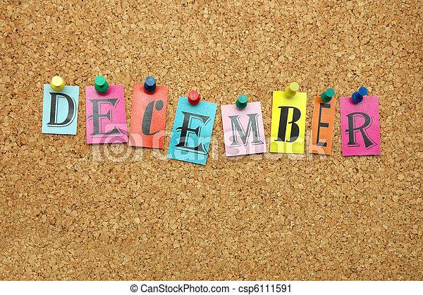 Diciembre - csp6111591