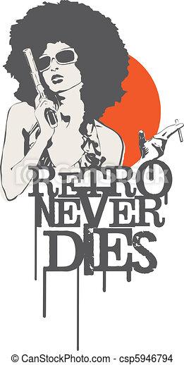 Retro nunca muere - csp5946794