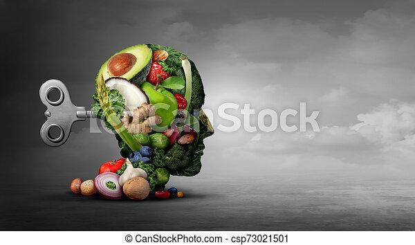Dieta vegetariana y función mental - csp73021501