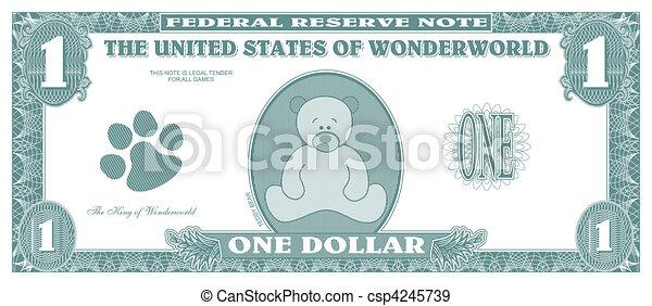 Dinero falso - csp4245739