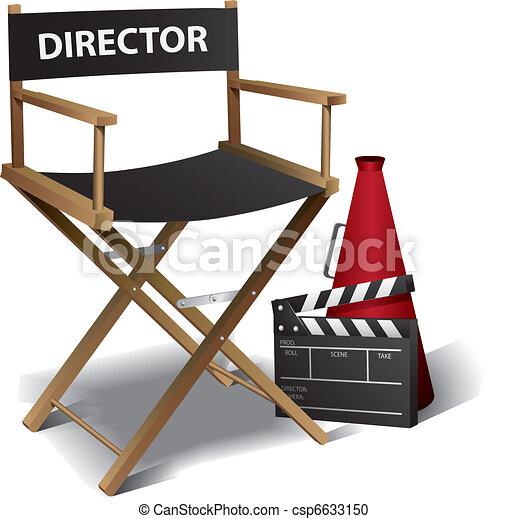 Director de cine - csp6633150