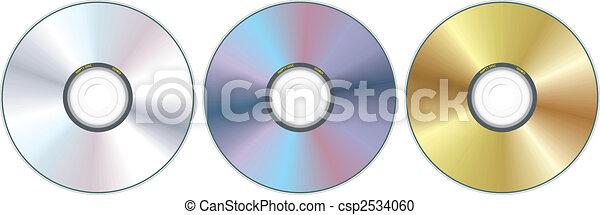 Tres discos compactos - csp2534060