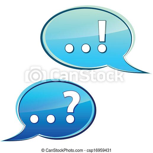 Discusión de burbujas - csp16959431