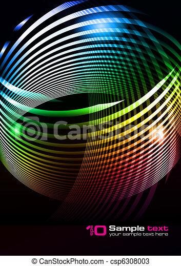 Diseño abstracto del vector - csp6308003