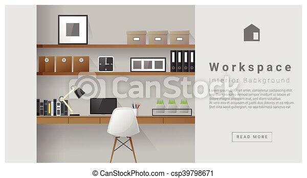 Diseño de interiores modernos antecedentes laborales - csp39798671