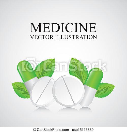 Diseño de medicina - csp15118339