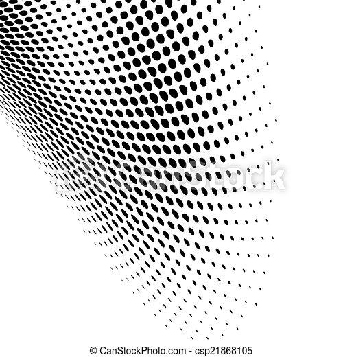 Diseño de puntos negros modernos - csp21868105