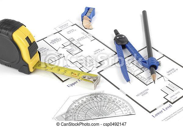 Diseño del interior - csp0492147