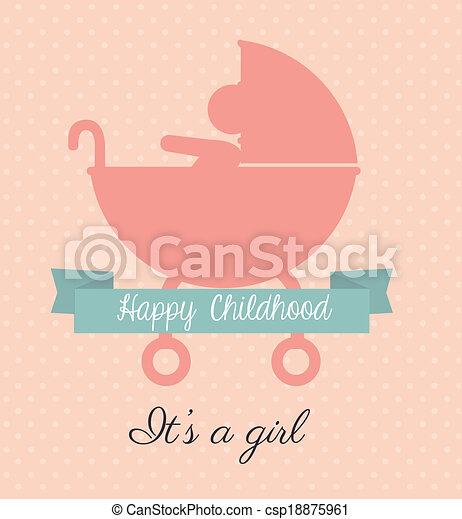 Diseño infantil - csp18875961