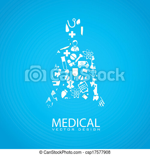 Diseño médico - csp17577908