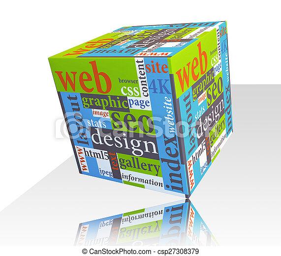Diseño web de respuesta - csp27308379