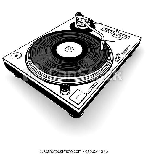 DJ gramófono BW - csp0541376