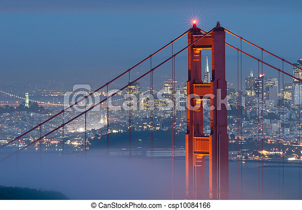 El puente Golden Gate. - csp10084166