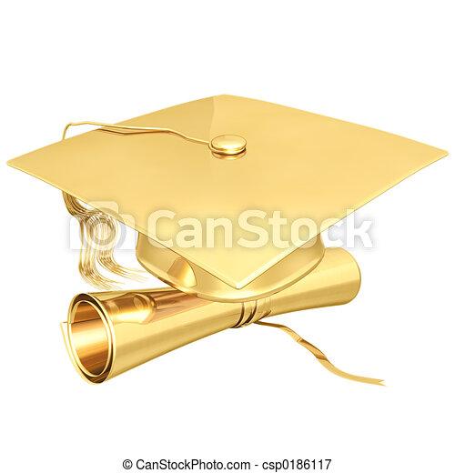 Graduación Gilded - csp0186117