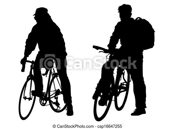 Dos bicicletas - csp16647255