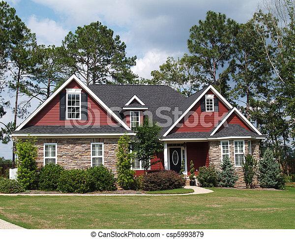 Dos historias residenciales - csp5993879
