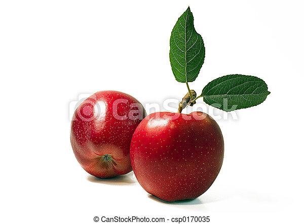 Dos manzanas - csp0170035