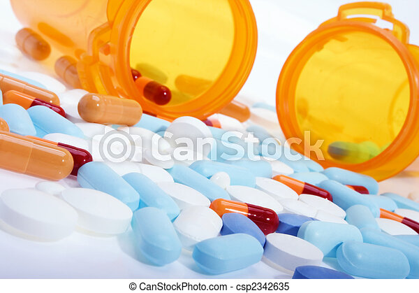 Drogas de receta - csp2342635