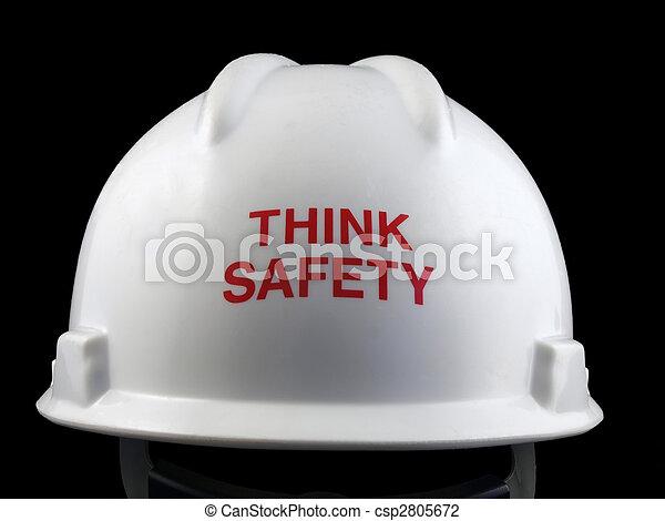 Piensa en la seguridad - csp2805672