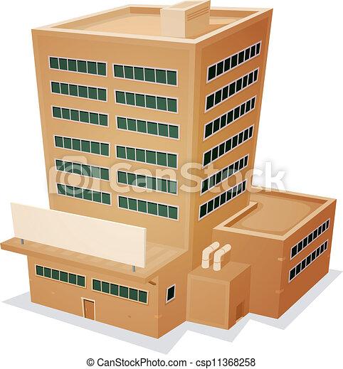 Edificio de fábricas - csp11368258