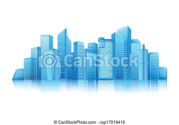 Edificio moderno - csp17019419