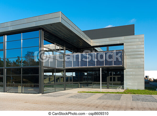 Edificio de oficinas modernos - csp8609310