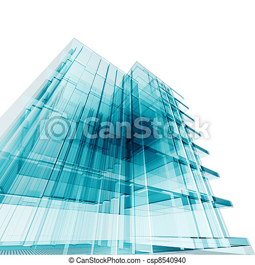Edificio de oficina - csp8540940