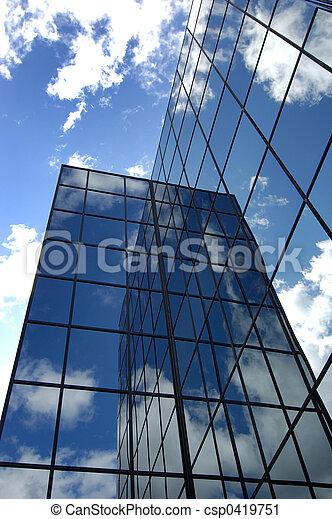 Edificio de oficina - csp0419751