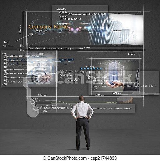 Construyendo un sitio web - csp21744833