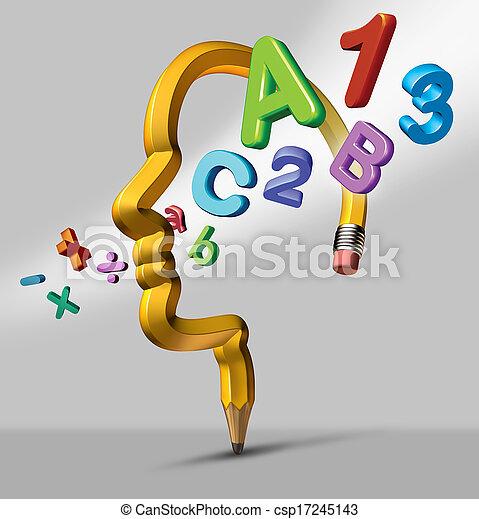 Aprendizaje y educación - csp17245143