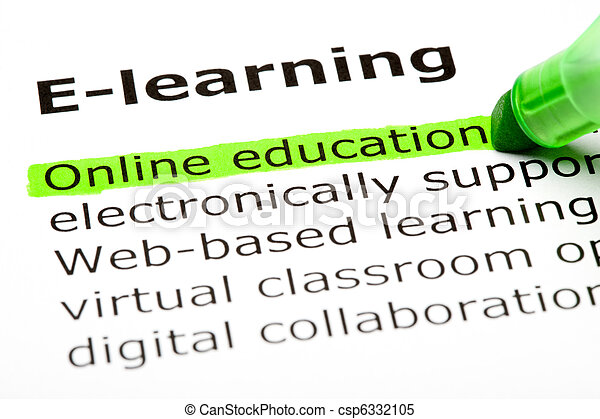 Educación en línea - csp6332105