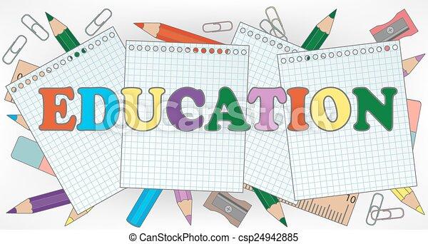 Educación - csp24942885