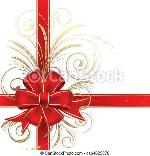 El arco de Navidad - csp4625376