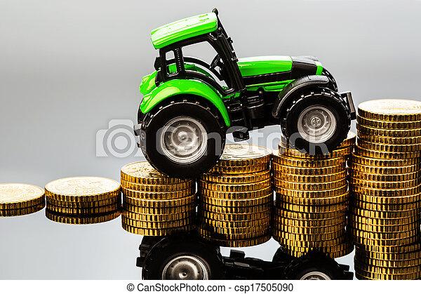 El aumento de costos en agricultura - csp17505090